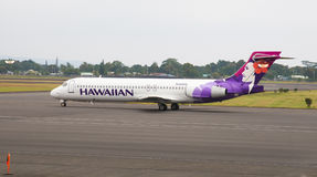 Hawaiian Airlines Boeing 717 jet Stock Photo