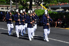 Hawaiian army guards, aloha festivals 2010 Stock Photography