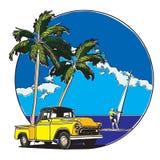 Hawaiian Badge Stock Photography