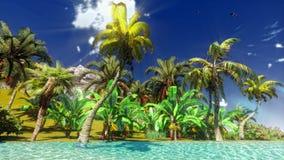 Hawaiian beach Royalty Free Stock Images