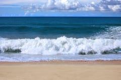 At a Hawaiian beach Stock Photography