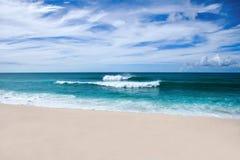 At a Hawaiian beach Royalty Free Stock Images