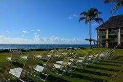 Hawaiian Beach. Wonderful Hawaiian Beach, Kauai, Hawaii stock photo