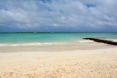 Hawaiian Beach. Wonderful Hawaiian Beach, Oahu, Hawaii royalty free stock photography