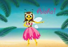 Hawaiian Bee Stock Photos