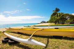 Free Hawaiian Boats Stock Images - 117278394