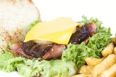 Hawaiian burger Royalty Free Stock Images