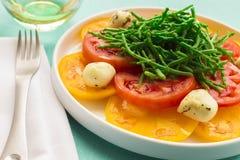 Hawaiian Caprese Salad Stock Images