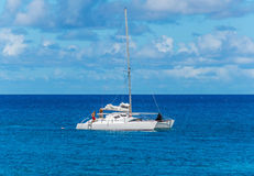 Hawaiian Catamaran Stock Images
