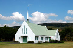 Hawaiian Church. Big Island Of Hawaii royalty free stock photography