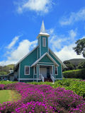 Hawaiian church Stock Photography
