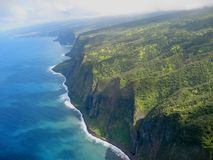 Hawaiian cliffs Royalty Free Stock Photos
