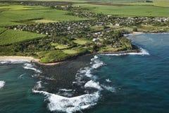 Hawaiian coastline. Royalty Free Stock Photos