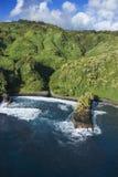 Hawaiian coastline. Stock Photo