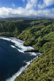 Hawaiian coastline. Royalty Free Stock Image
