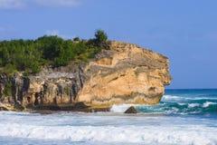 Hawaiian Coastline in Kauai Stock Image
