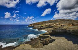 Hawaiian Coastline Royalty Free Stock Photo