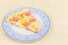 Hawaiian da pizza fotos de stock royalty free