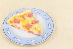 Hawaiian de la pizza fotos de archivo libres de regalías