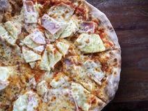 Hawaiian de la pizza Fotografía de archivo