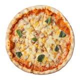 Hawaiian della pizza Immagini Stock