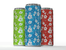 Hawaiian Energy Drink Royalty Free Stock Photography
