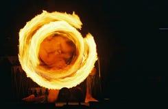 Hawaiian Fire II. Hawaiian luau 2 royalty free stock image