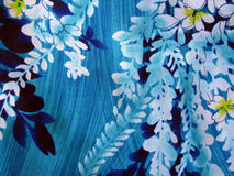 Hawaiian Floral Print Stock Images