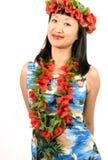 Hawaiian Girl Royalty Free Stock Image
