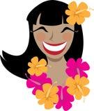 Hawaiian Girl Stock Photos