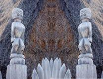Hawaiian god Stock Image