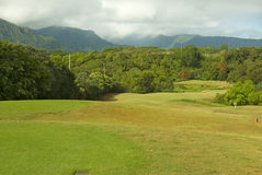 Hawaiian golf course Stock Photography