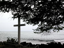 Hawaiian Grave Stock Photography