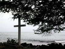 Hawaiian Grave Stock Photography