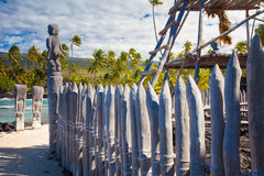 Hawaiian historical dwellings Stock Photography