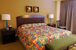 Hawaiian hotel room Royalty Free Stock Photography