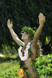Hawaiian hula Royalty Free Stock Image