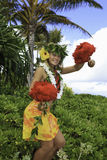 Hawaiian hula Royalty Free Stock Photos