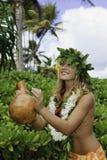Hawaiian hula Royalty Free Stock Photos