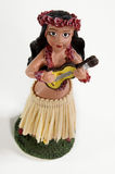 Hawaiian Hula doll royalty free stock image