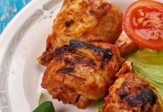 Hawaiian Huli Huli Grilled Chicken stock images