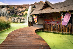 Hawaiian hut. Royalty Free Stock Images