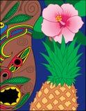 Hawaiian Icons Royalty Free Stock Photos