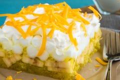 Hawaiian Jello Salad Royalty Free Stock Image
