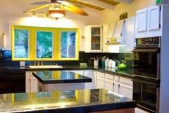 Hawaiian Kitchen in White Stock Photography