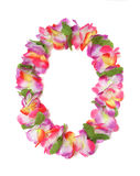 Hawaiian Lei. A colorful Hawaiian lei with bright colorful flowers Stock Photos