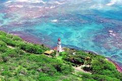 Hawaiian lighthouse Stock Image