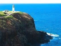Hawaiian lighthouse. Lighthouse on the coast of Hawaii Royalty Free Stock Photos