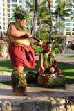 Hawaiian luau stock image