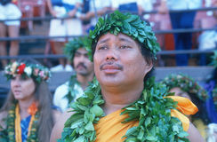 A Hawaiian man Royalty Free Stock Images
